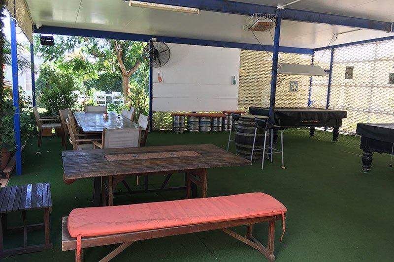 drinking area